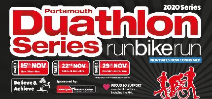 Portsmouth Duathlon Series 2020 - Portsmouth Duathlon Series 2020 (All 3 races) - Pair/Relay (3 Races)